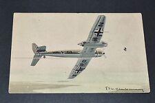 CPA AVIATION WW2 BLOHM-VOSS BV-141 LUFTWAFFE GUERRE 39-45 Ph. CHARBONNEAUX