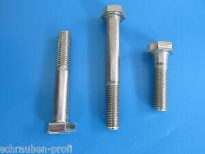 Viti-esagonali-DIN-931-M5-M6-M8-M10-M12-M16-M20-Acciaio-inox-V2A-A2