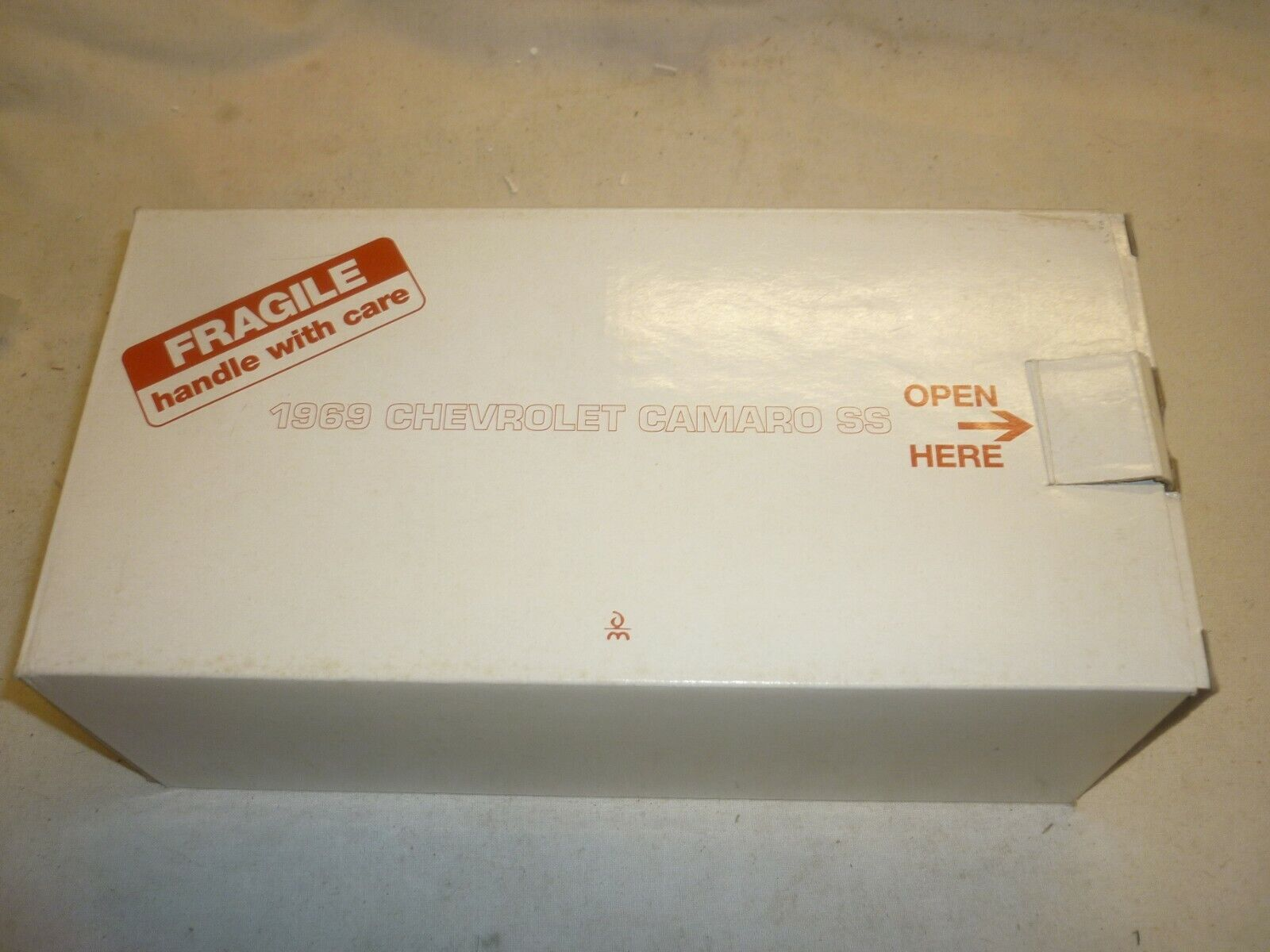 A Danbury mint model of a 1969 Chevrolet Cameo ss, boxed