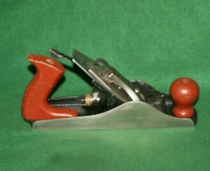 Great-User-Restored-Clean-amp-Ready-Red-Diamond-Sized-No-4-Bench-Plane-Inv-TF85