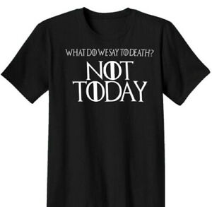 NEW-Game-of-Thrones-GOT-Arya-Stark-Not-Today-Tyrion-Direwolf-T-Shirt-Shirt-S-XL
