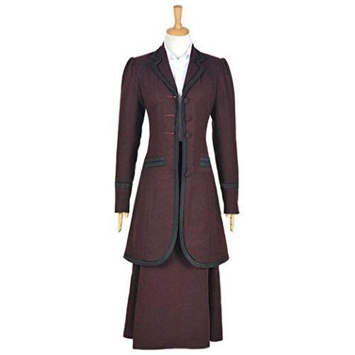 Doctor Who 8th Season Missy Mistress Uniform Cosplay Costume Custom Made