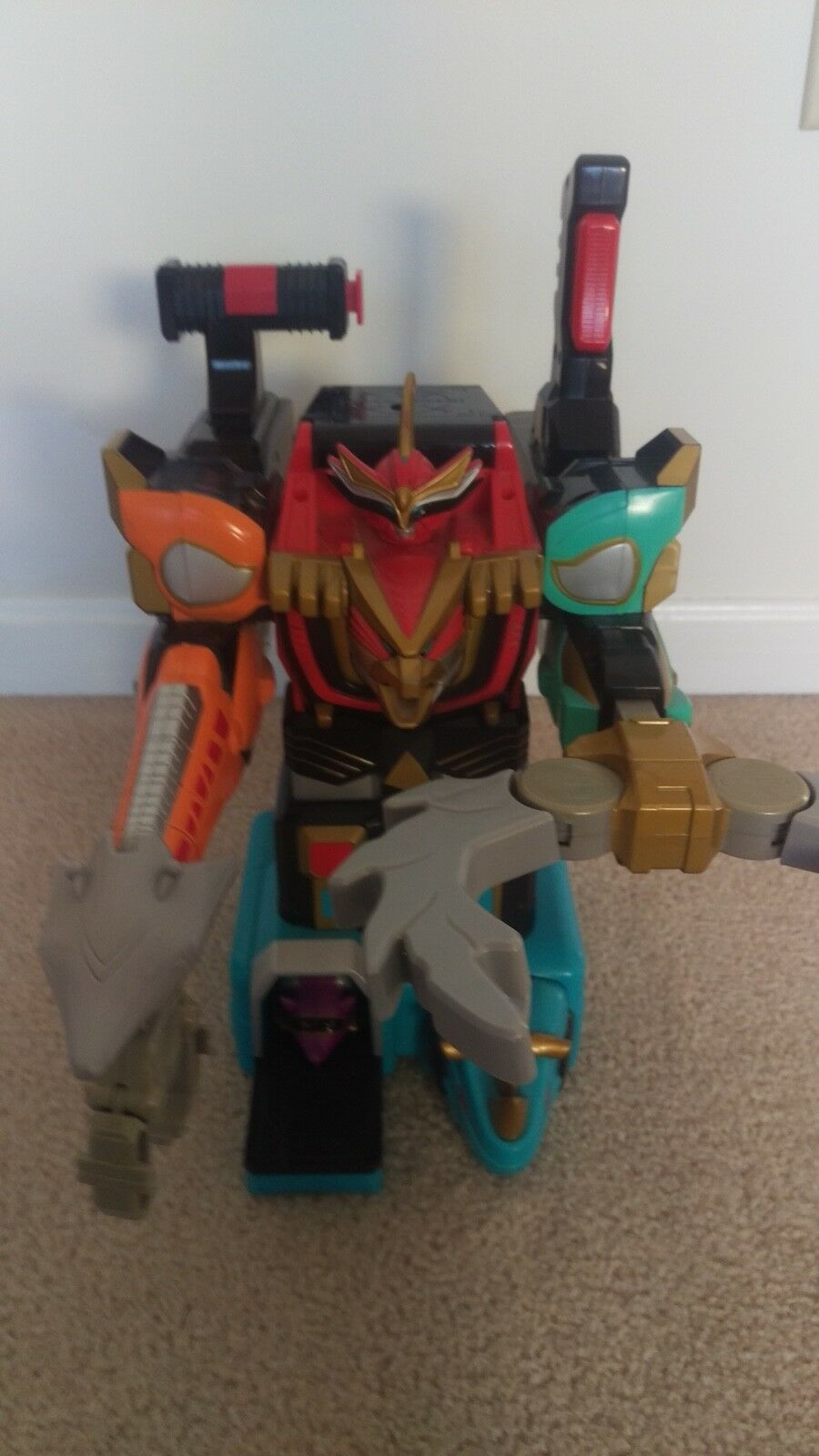 2002 Power Rangers Wild Force Deluxe Isis Command Megazord