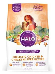 Halo-Small-Breed-Holistic-Chicken-amp-Chicken-Liver-Recipe-Dry-Dog-Food