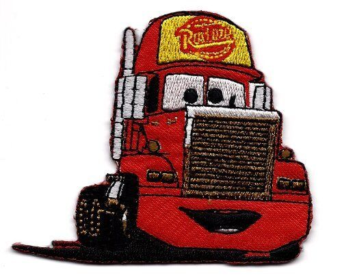 MACK SuperLiner in Cars Pixar Disney Embroidered Iron on Sew on Patch