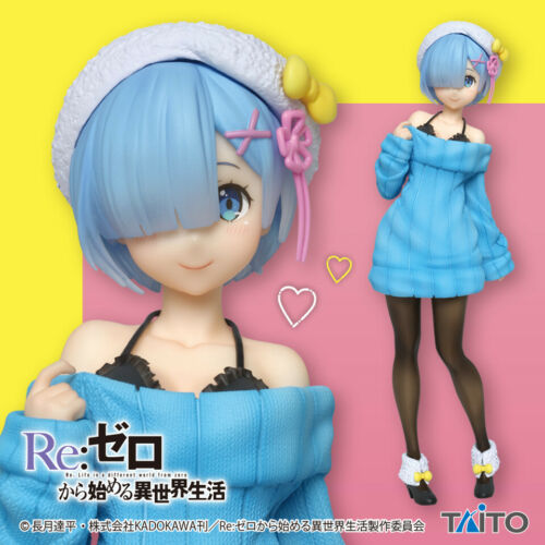 "Precious 6/"" Figure Taito Re:Zero Starting Life in Another World Rem Winter ver"