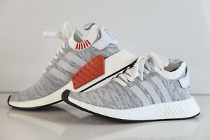 pretty nice a7f62 01883 Details about Adidas NMD R2 PK Tiger Camo White Grey Glitch BY9410 7-13  boost prime knit r1 3