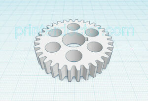South Bend 9/10K metal lathe 32 tooth nylon gear 0.5625 9/16 bore 3/8 wide face