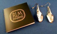 Rlm Studio Sterling Silver Zinnia Flower Petal Pierced Earrings