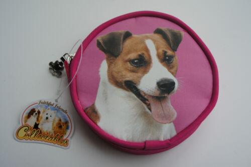JACK RUSSELL TERRIER DOG Portamonete Regalo Ideale Terrier Bag Purse