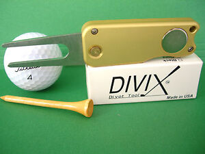 DIVIX-GOLF-switchblade-DIVOT-TOOL-in-SATIN-GOLD-MADE-IN-THE-USA