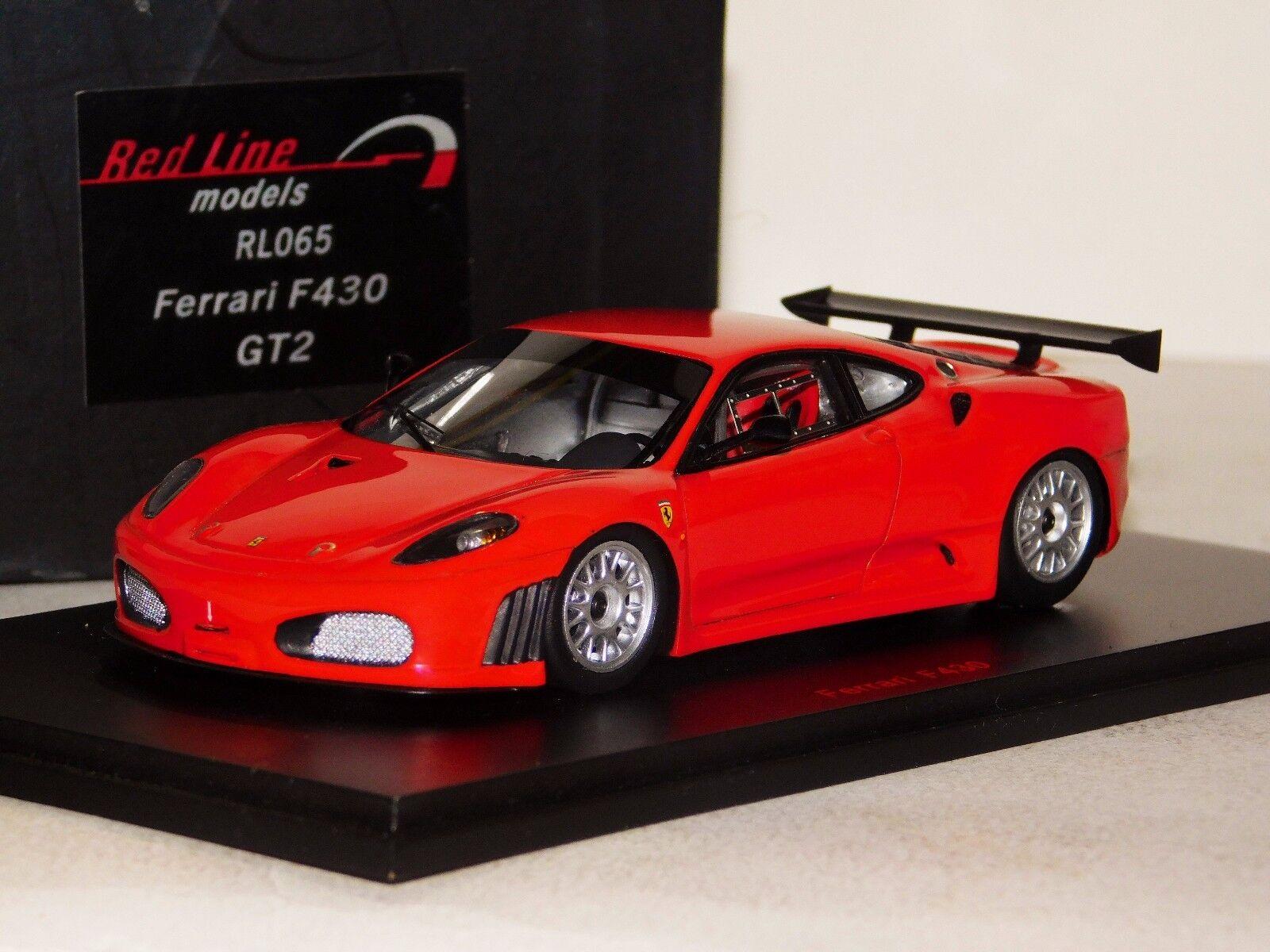 Ferrari F430 GT2 rouge rougeline RL065 1 43