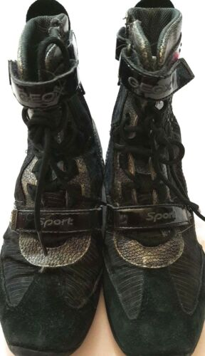 Nere Usate Da Bambina Geox Sport Respira N° Alte 32 Girl Scarpe qW110Awv