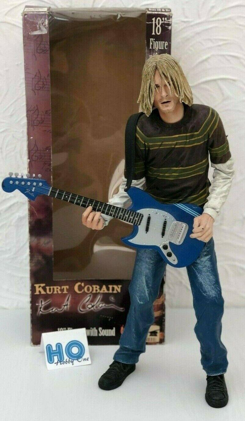 Figurine - Kurt Cobain - Neca - 18''   ±45cm - Figure Sound - Very Good