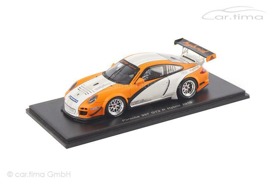 oferta especial Porsche 911 (997) gt3 R Hybrid-presentación 2010-Spark - 1 1 1 43  cómodamente
