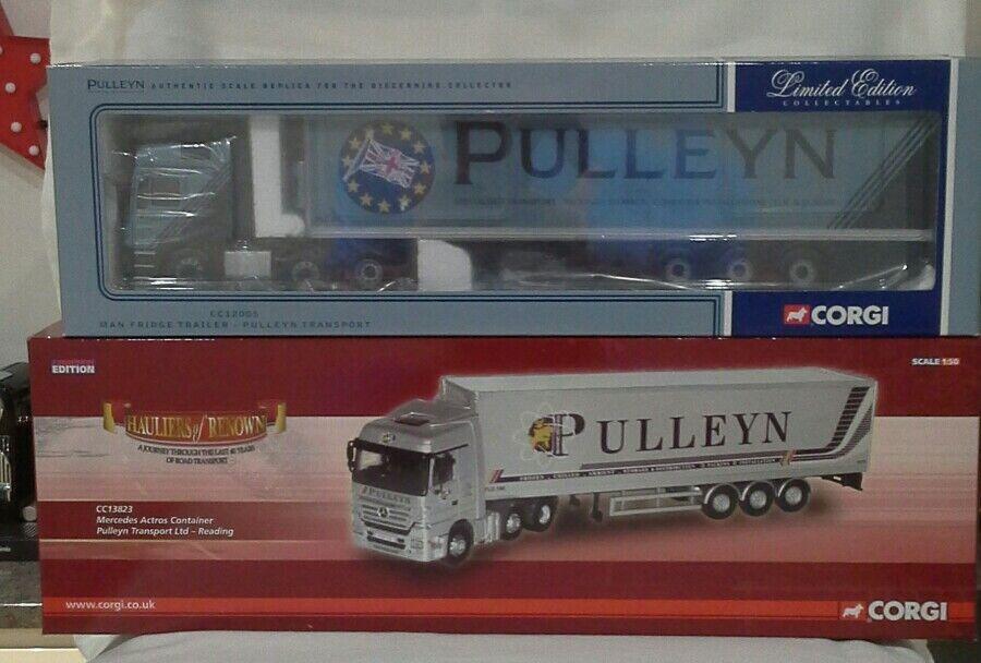 Corgi moderna lastbilar Pulleyn Transport