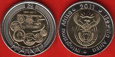 "South Africa 5 rand 2011 ""SA Reserve Bank"" BiMetallic UNC"