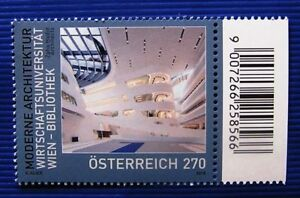 Wirtschaftsuni-Wien-Bibliothek-Mod-Architektur-Mi-3437-Osterr-SM-2018-Randstk