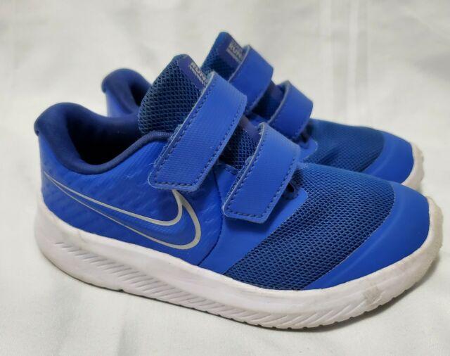 Nike Child Size 8c Star Runner 2 Royal Blue Children Shoes ...