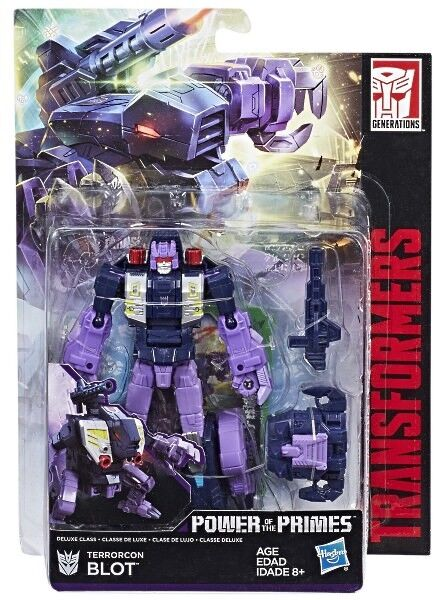 Transformers Power of the Primes POTP W3 Deluxe Terrorcon Blot New