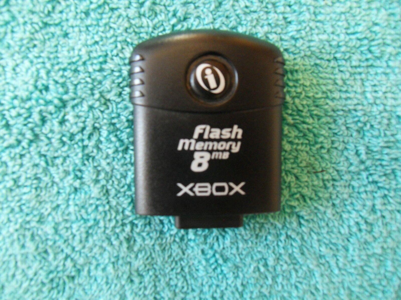 8mb FLASH MEMORY CARD - microsoft xbox