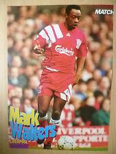 ORIGINALE firmato a mano MAG foto-Mark Walters a Liverpool FC (APX. A4)