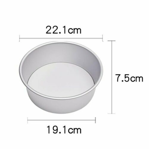 4//5//6//8//10 Inch Cake Mold Round Cakes Pastry Mould Baking Tin Pan Reusable EM