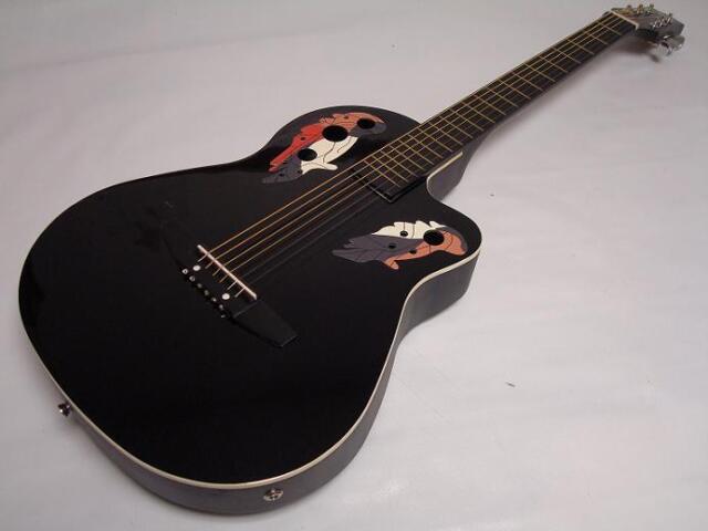 buy 6 string acoustic electric guitar round back black gig bag online ebay. Black Bedroom Furniture Sets. Home Design Ideas