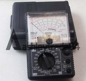 Details about NEW Made in Japan Hioki 3030-10 Analog Multimeter Hitester