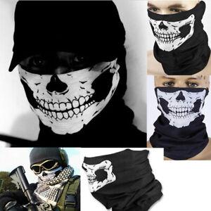 Punk Multituch Schlauchschal Kopftuch Bandana Kopfband Totenkopf Halstuch HOT