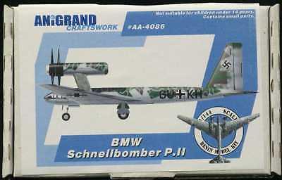 Anigrand 1/144 German BMW SCHNELLBOMBER P.II Bomber Project