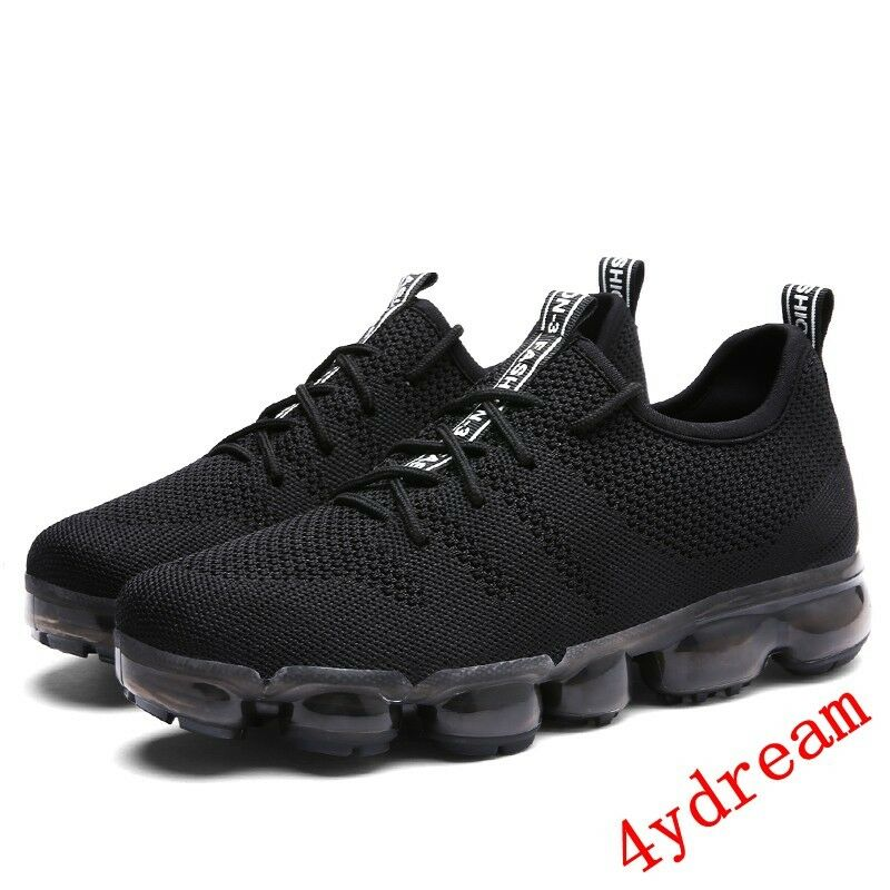 InStock Mens Shockproof Max UltraLight Air Sole Fly knit Athletic Sneaker A05