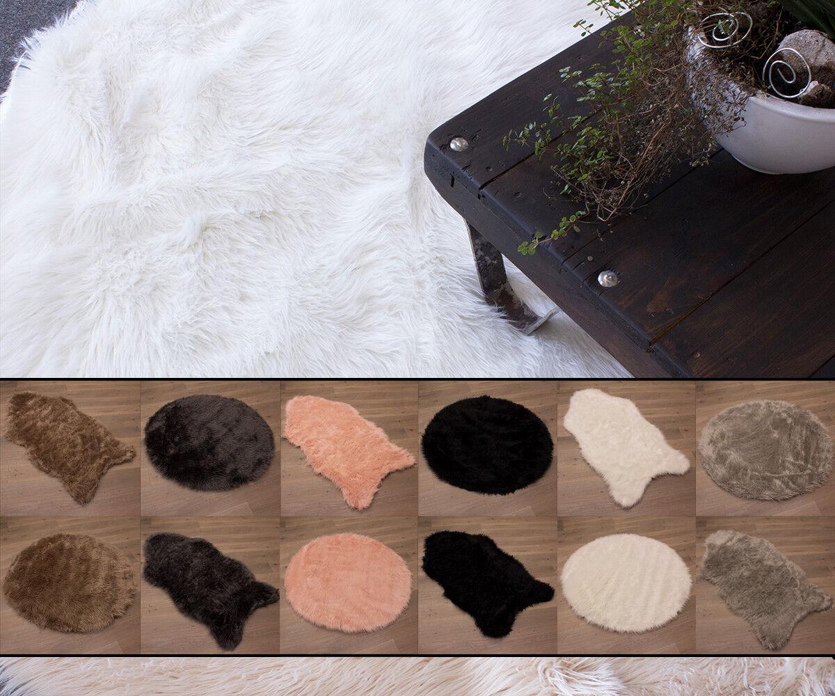 Tappeto Morbido Pelle Di Pecora Tappeto Pelle di Pecora Soffice Imitazione Tappeto 4 Taglie 8 ColoreeeI
