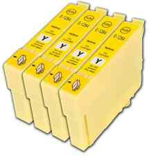 4 Yellow T1284 non-OEM Ink Cartridge For Epson Stylus SX430W SX435W SX438W