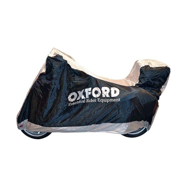 OXFORD Funda cubre moto universal para motocicletas con guarda cascos M CV116