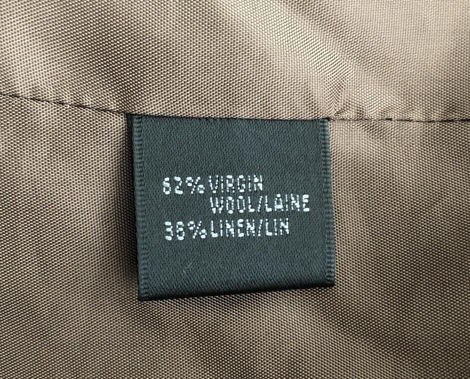 Lafayette 148 New Linen/Wool Blend Pant Suit Size… - image 10