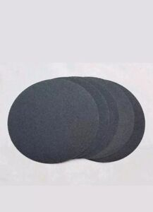 """Silicon Carbide Adhesive Backed Sanding Discs 10 pieces. 14/"""" PSA 120 grit"""