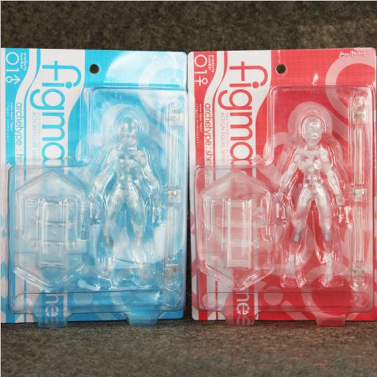 Action Figure She 2 color Figma Archetype She Figure & He Action Figure Transparent Ver 3e5245
