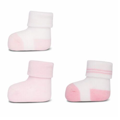 Socken Erstlingssöckchen Neugeborenen Söckchen o Plüsch ewers 3er Set Baby