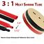 thumbnail 18 - Marine Grade Dual-Wall Adhesive Glue Lined Heat Shrink Tube 3:1 Ratio Black/Red