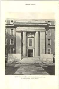 1927-Friends-House-Euston-Road-Entrance-To-Administrative-Block