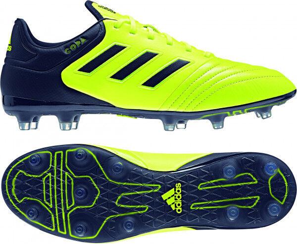 Adidas Copa 17.2 FG Herren Fußballschuhe Nocken Nocken Nocken gelb blau  Gr. 42 043411
