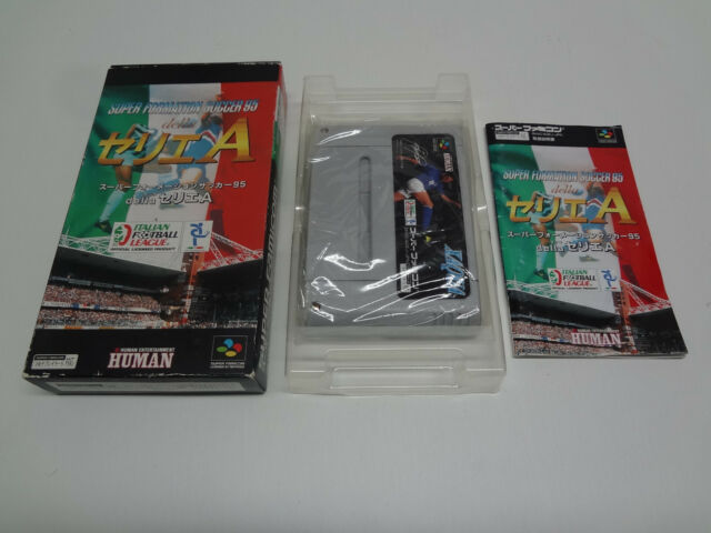 Super Formation Soccer 95 Xaqua Version Nintendo Super Famicom Japan