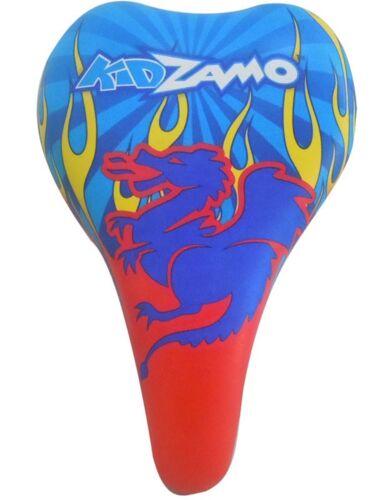 """Selle Kidzamo SELLES-Juvenile-Acier-Standard 9X6/"""" AUCUNE-Flamme Bleue"""