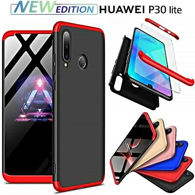 Cover for Huawei p30 Lite New Edition Front Retro 360 ° Armor Tempered Glass | eBay