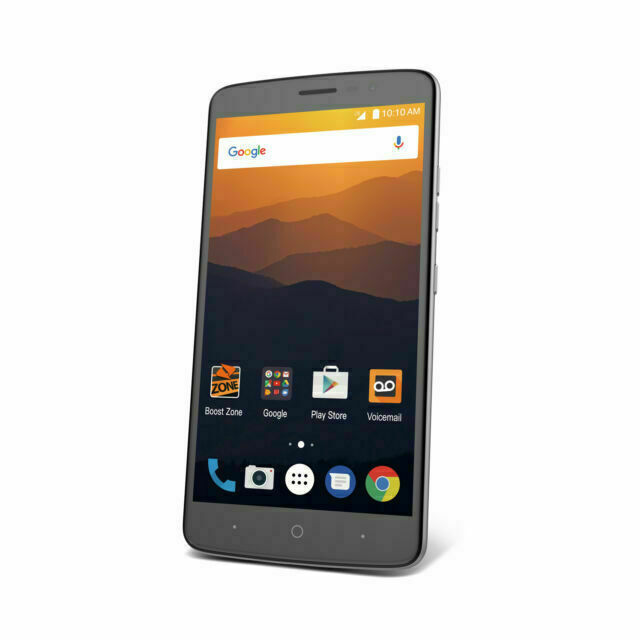 Zte Max Xl N9560 16gb Black Sprint Smartphone For Sale Online Ebay