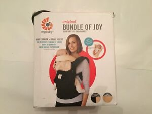 be16bb06108 Ergobaby Original Bundle of Joy Baby Carrier   Insert In Black Camel ...