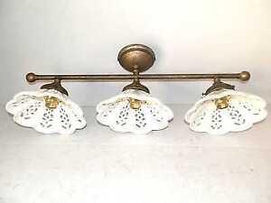 Plafoniera Ottone : Applique lampada plafoniera ottone casa arredo luci in linea con
