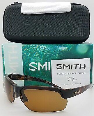 Smith Bridgetown White Honey Tortoise Block Polarized Brown ChromaPop AHF L5