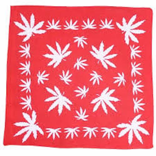 Weed Leaf BANDANA cappucci BANDIT Fascia Sciarpa Collo Polso Wrap BAND headtieb3